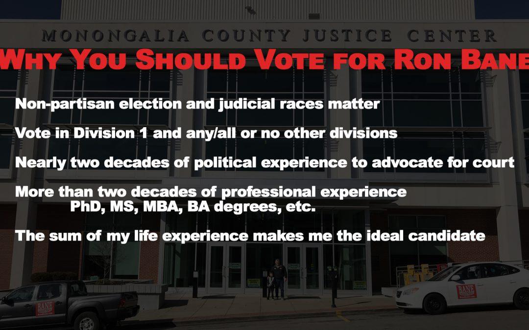 Monongalia Judicial Candidates Virtual Town Hall